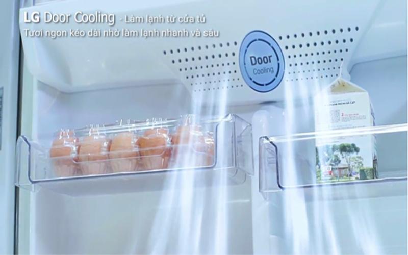 Hệ thống làm lạnh Door Cooling độc đáo và mới lạ