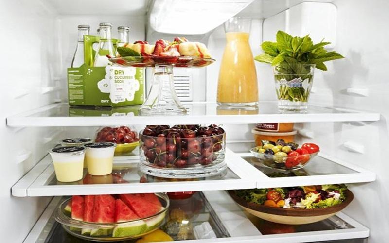 Thức ăn tươi ngon như mới nhờ công nghệ làm lạnh của thiết bị Aqua