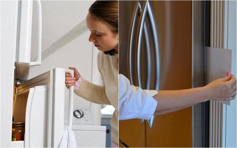 Cửa tủ lạnh là một trong những lý do hàng đầu gây hao điện