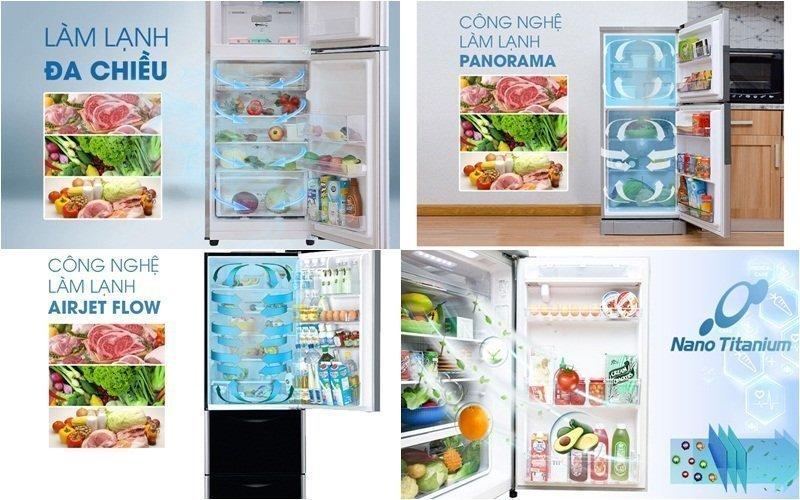 Tủ lạnh Inverter được tích hợp nhiều công nghệ làm lạnh hiện đại