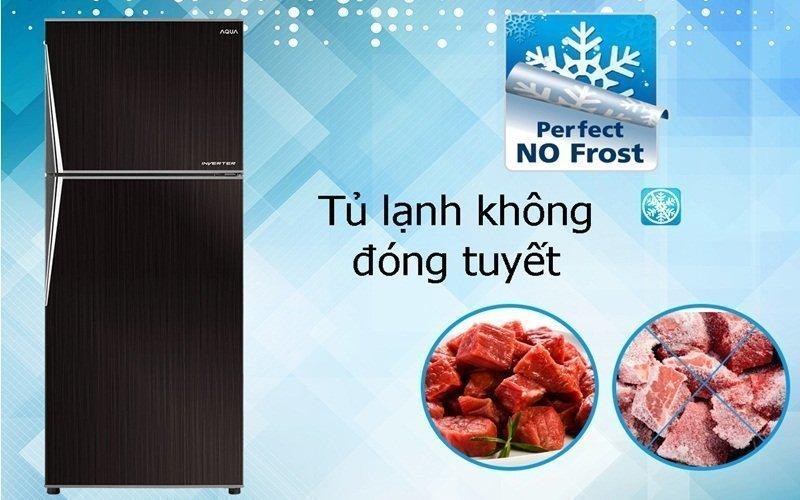 Đặc biệt tủ lạnh Inverter sẽ không bị đóng tuyết
