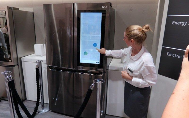 """Tủ lạnh LG Smart InstaView Door-in-Door càng có thiết kế """"độc nhất vô nhị"""""""