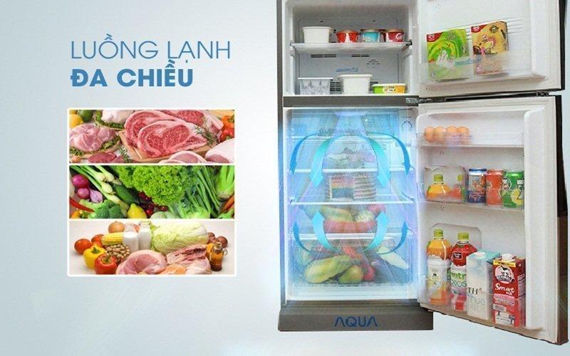 Tích hợp công nghệ luồng khí lạnh đa chiều bảo quản thực phẩm tốt nhất