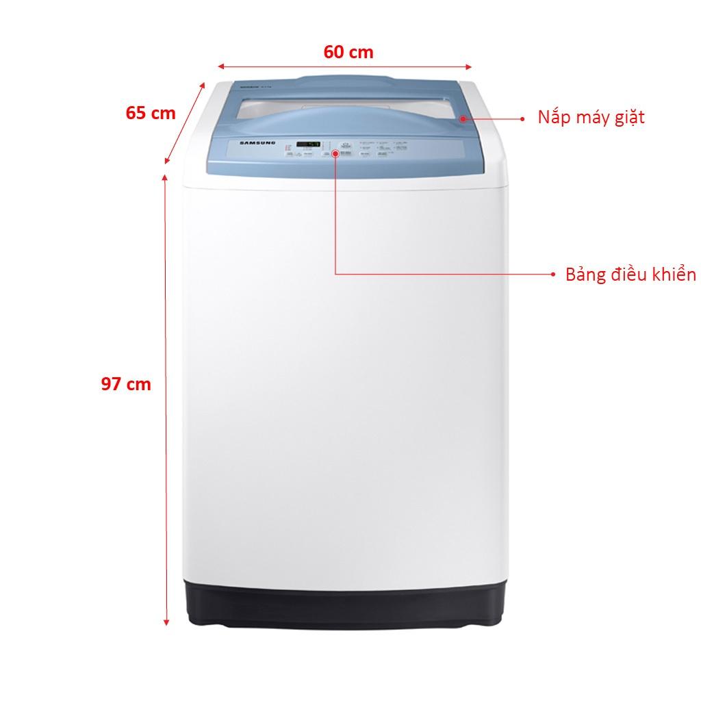 Máy giặt Samsung 8.5 kg WA85M5120SW giá tốt tại Nguyễn Kim