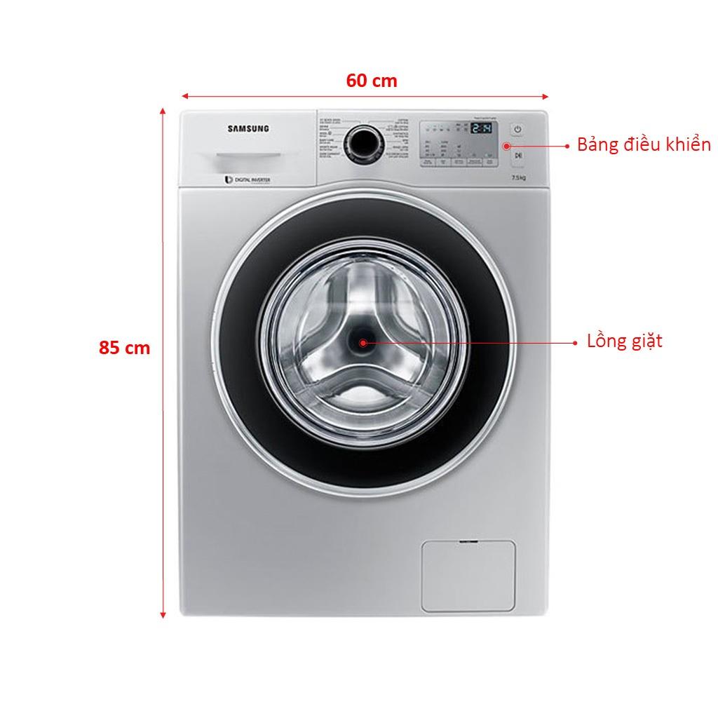 Máy giặt Samsung 7.5 kg WW75J4233GS giá tốt | nguyenkim.com