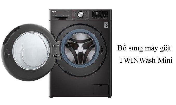 Máy giặt sấy LG Inverter 10.5 kg FV1450H2B bổ sung máy giặt TwinWash