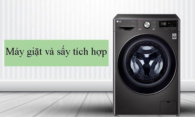 Máy giặt sấy LG Inverter 10.5 kg FV1450H2B giặt và sấy tích hợp