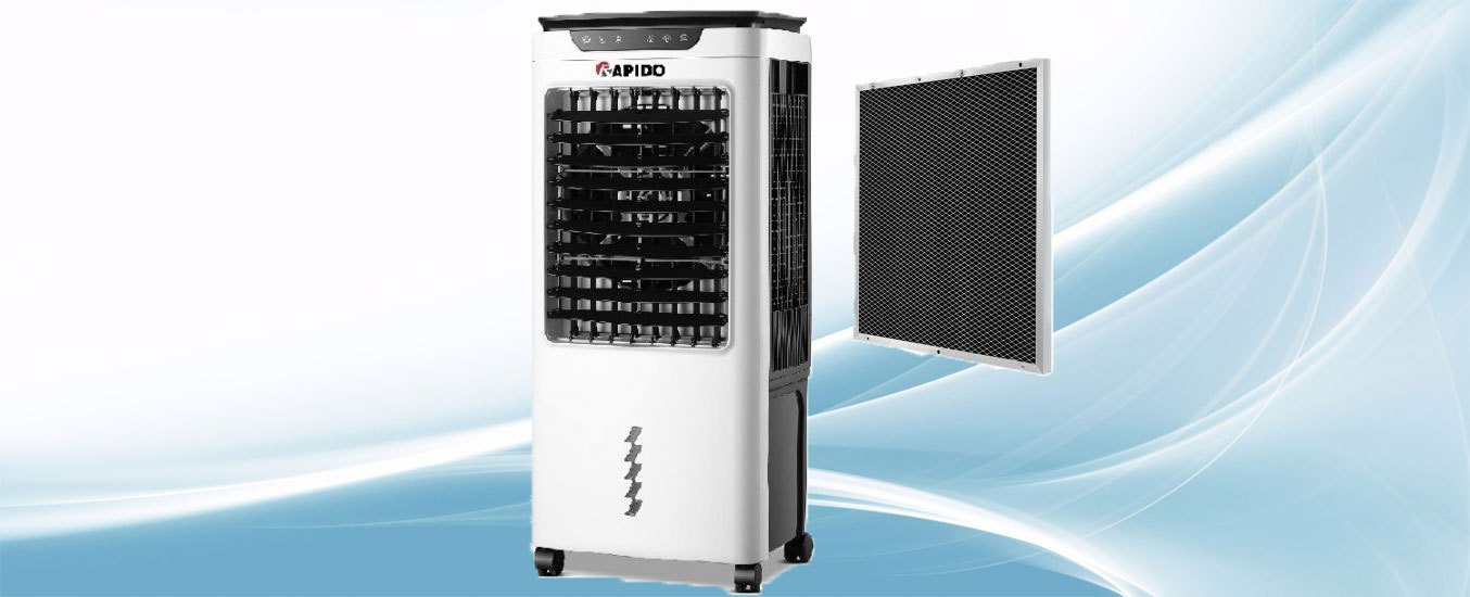 Quạt điều hòa Rapido Turbo 6000-D Động cơ SD PLUS tiết kiệm điện tối ưu và hoạt động êm ái