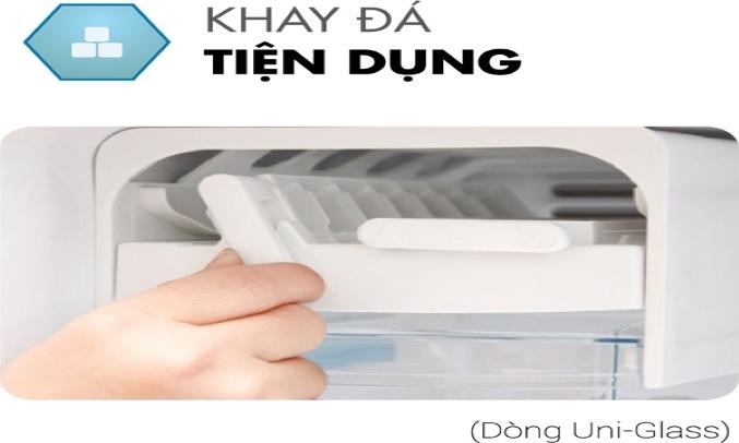Tủ Lạnh Toshiba Inverter 194 lít GR-A25VM (UKG1) làm đá nhanh chóng