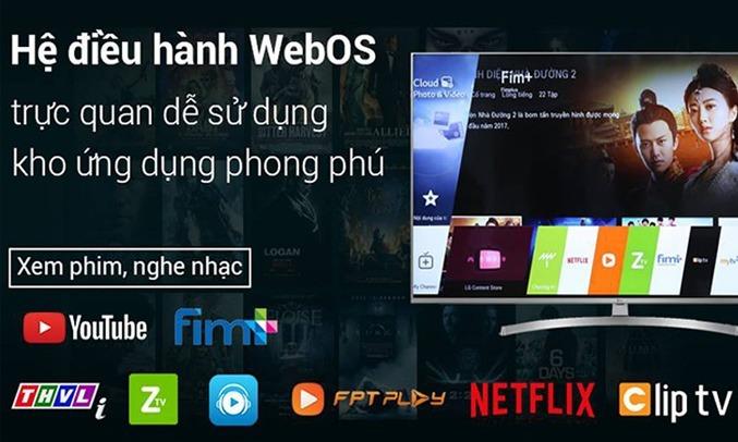 Smart Tivi LG 4K 49 inch 49NANO81TNA.ATV Tích hợp nhiều công nghệ thông minh