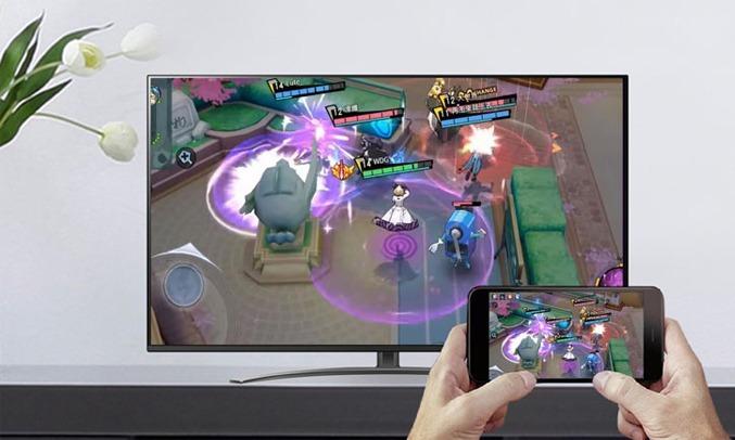 Smart Tivi LG 4K 49 inch 49NANO81TNA.ATV Tính năng Screen Mirroring