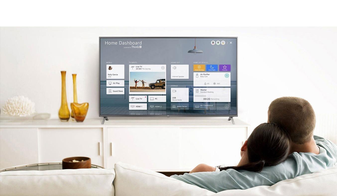 Smart Tivi LG 4K 49 inch 49NANO81TNA.ATV Thiết kế hiện đại