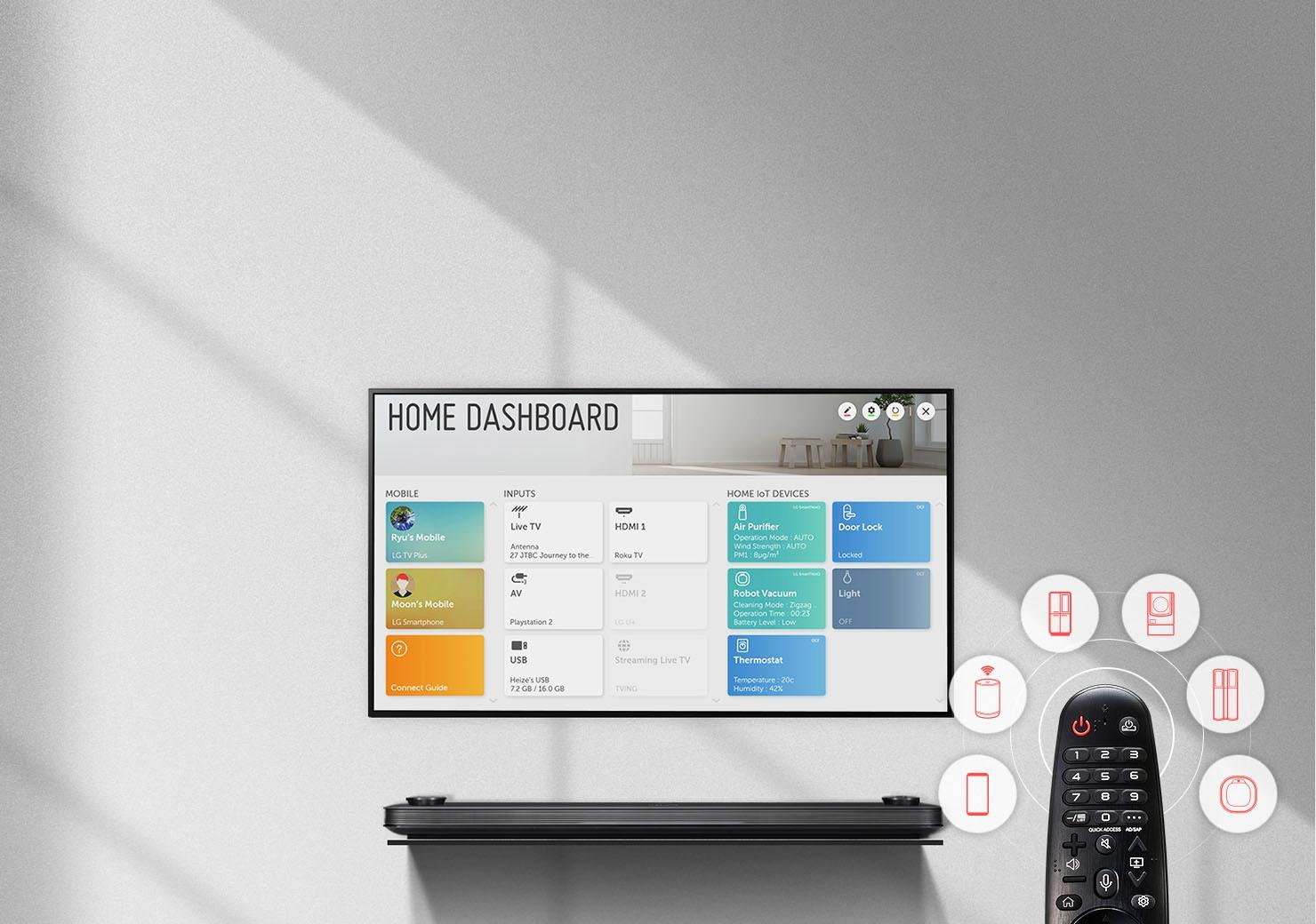 Smart Tivi LG 4K 43 inch 43UN7300PTC.ATV - Tích hợp nhiều ứng dụng thông minh