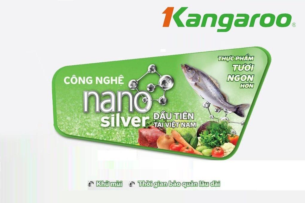 Tủđông kháng khuẩn Kangaroo KG265NC1