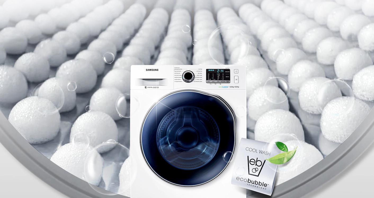 Máy giặt sấy Samsung 9.5 Kg WD95J5410AW