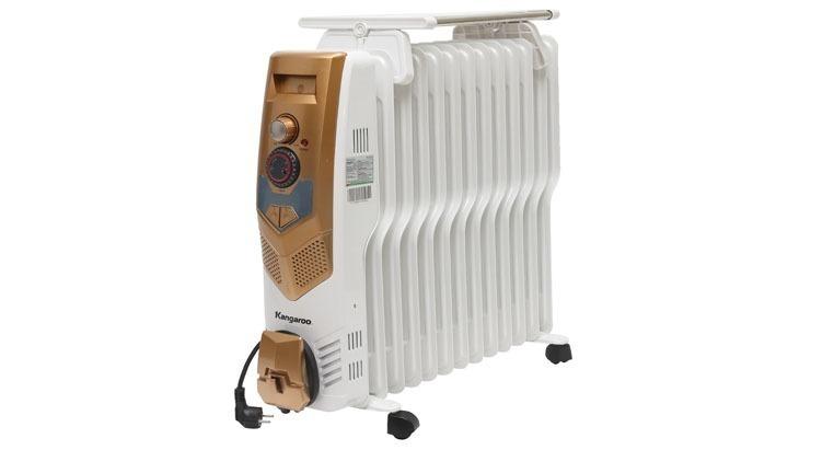 Máy sưởi có giá thành rẻ hơn nhiều so với máy điều hòa