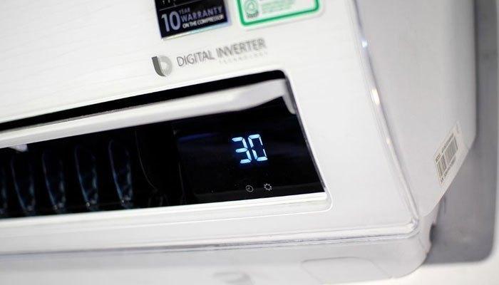 Nên đặt nhiệt độ máy lạnh phù hợp để tránh sốc nhiệt vào mùa nóng nhé!