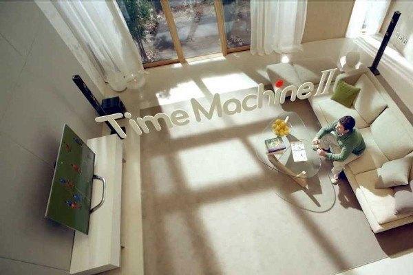 Tính năng Time Machine được trang bị ở một số tivi LG