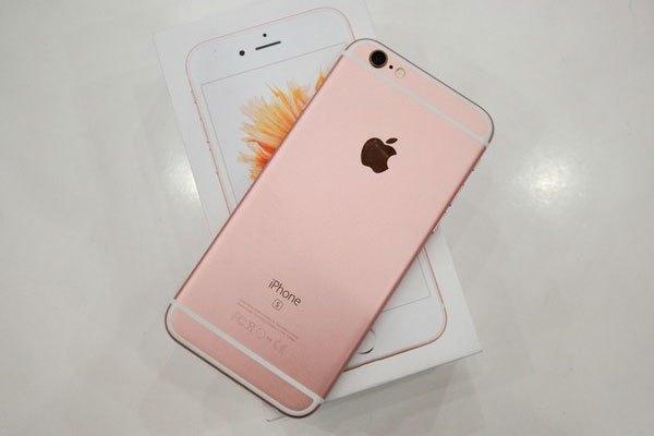 Nhẹ nhàng là tính từ miêu tả cho iPhone vàng hồng