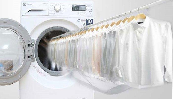 Cuối năm thỏa thích se sua quần áo với máy giặt sấy Electrolux EWW12842 không lo thời tiết
