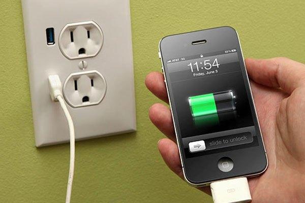 Không nên để điện thoại gần các thiết bị tỏa nhiệt khi sạc