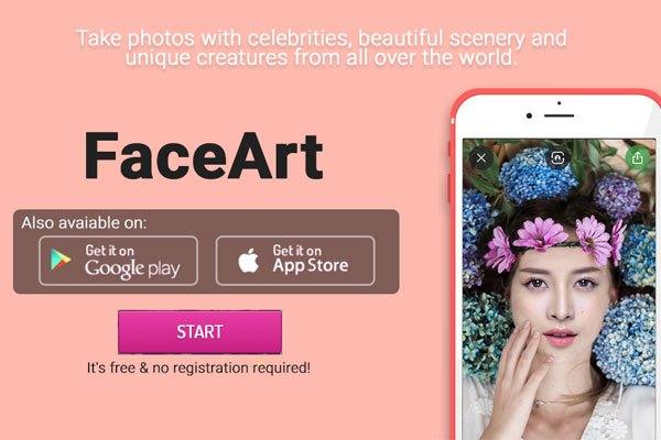 Tải ứng dụng FaceArt về điện thoại