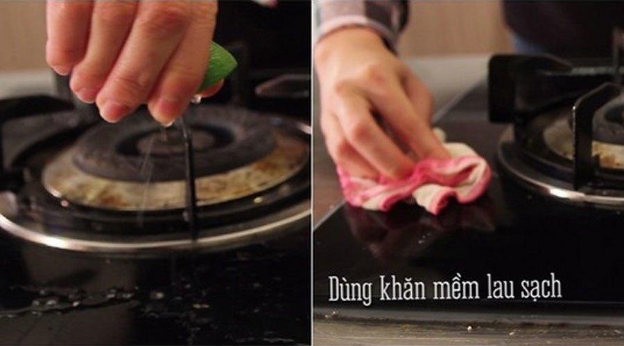 Chanh hỗ trợ các bà nội trợ trong việc vệ sinh chùi rửa các thiết bị nhà bếp rất hiệu quả
