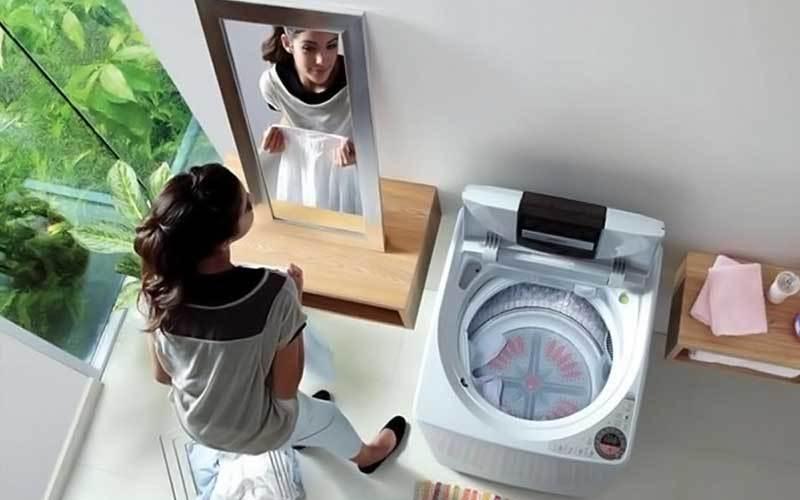 Chọn mua máy giặt cửa trên và máy giặt cửa trước