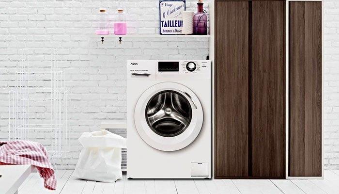Máy giặt Aqua 8.5kg AQD-850ZT với kích thước gọn gàng phù hợp cho nhiều không gian