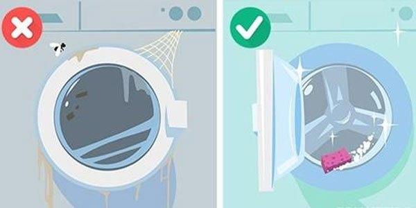 Vệ sinh máy giặt là điều tiên quyết phải làm