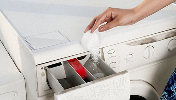 sử dụng lượng bột giặt phù hợp