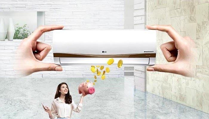 Máy lạnh Inverter giúp tiết kiệm điện năng tối đa cho căn nhà của bạn