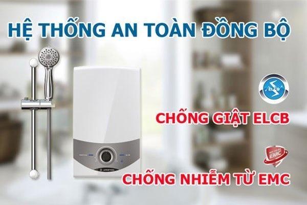 Công nghệ chống nhiễm từ hiện đại được trang bị trên máy nước nóng Ariston SM45PE-VN
