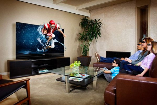 Xem phim 3D chân thực như tại rạp chiếu với tivi 3D