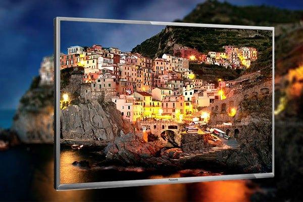 Hình ảnh trên tivi Panasonic có chiều sâu và độ tương phản rõ rệt