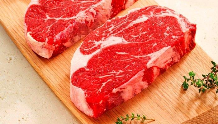 Thịt bò tươi giúp cung cấp chất sắt rất tốt cho hệ miễn dịch