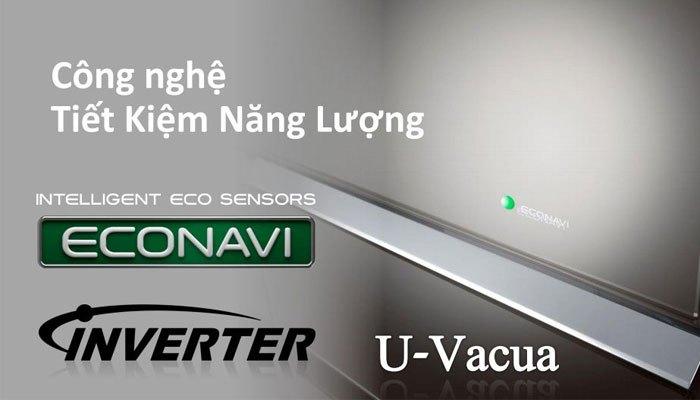Sự kết hợp giữa ECONAVI và Inverter trên tủ lạnh Panasonic cho bạn sự tiết kiệm điện năng tối ưu