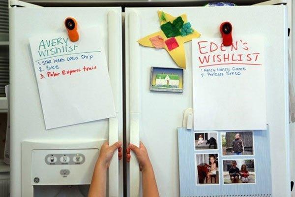Cửa tủ lạnh cần đóng kín để tiết kiệm điện năng