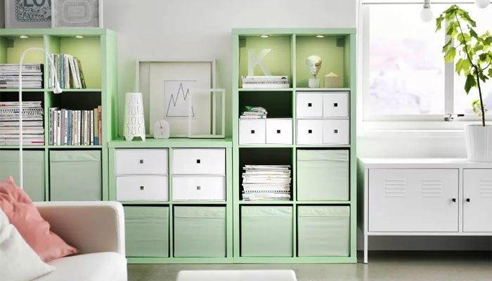 Sơn tường với gam màu dịu và trồng cây xanh sẽ giúp không gian mát mẻ