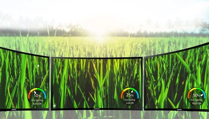 Màn hình máy tính Samsung LC27F390FHEXXV tiết kiệm năng lượng và bảo vệ môi trường
