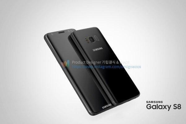 """Điện thoại có cả hai phiên bản Galaxy S8 và Galaxy S8+ với kích thước màn hình khá """"khủng"""" lần lượt là 5,8 inch và 6,2 inch."""