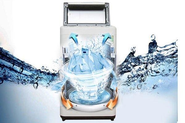 Máy giặt Panasonic NA-F80VS7WCV sở hữu nhiều chế độ giặt