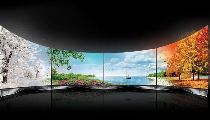 Tivi OLED dễ dàng uốn cong hơn tivi LED