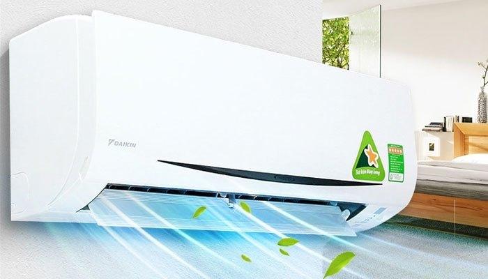 Chế độ gió đa dạng là một điểm cộng cho chiếc máy lạnh Daikin