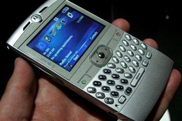Điện thoại Motorola Q được xem là đối thủ nặng kí của BlackBerry