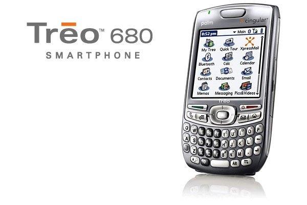 Ăng ten tích hợp bên trong là điểm đặc biệt của chiếc điện thoại Palm Treo 680