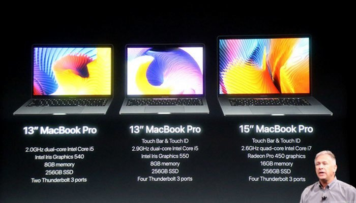 Cấu hình được tối ưu hóa và nâng cấp tốt nhất trong các thế hệ MacBook