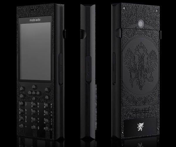 Điện thoại màu đen sang trọng