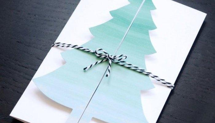 Những tấm thiệp handmade đơn giản nhưng đem lại hiệu quả bất ngờ