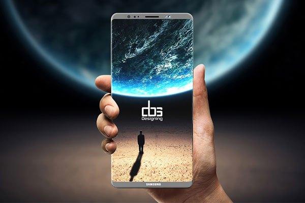 Màn hình khủng lên đến 6.3 inch của chiếc điện thoại Galaxy Note 8